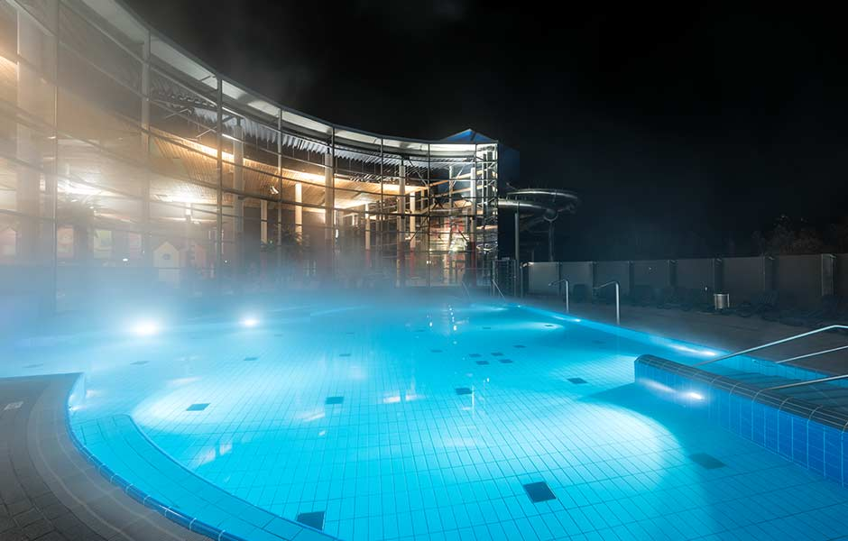 Außenbereich Pool