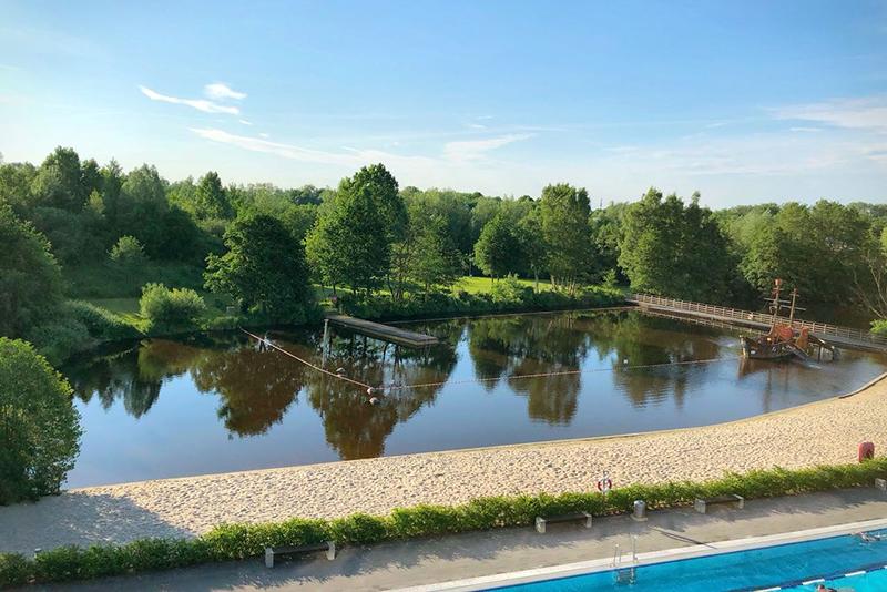 OLantis Flussbad Ansicht von oben