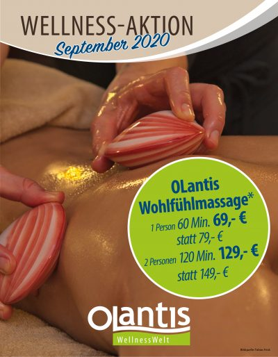 WellnessWelt Angebot September 2020