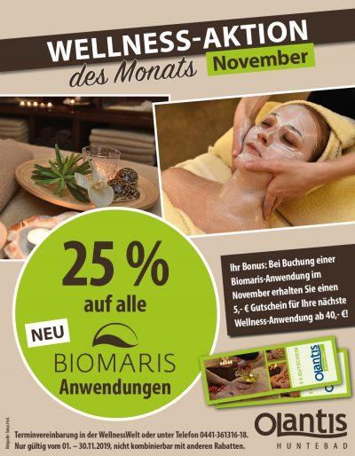 WellnessWelt Angebot November