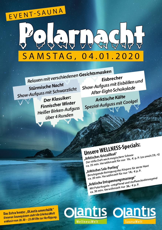 Sauna-Event Polarnacht am 04.01.2020