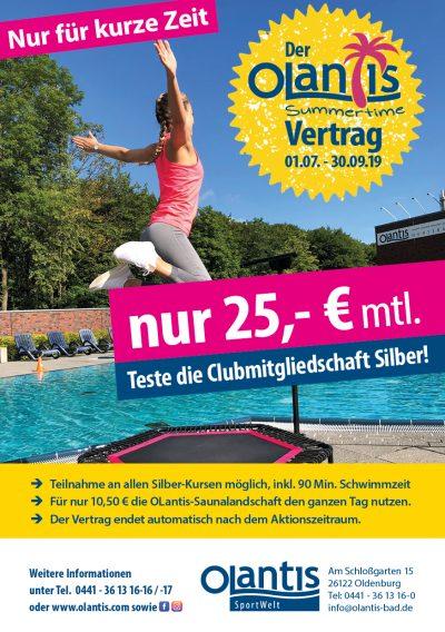 SportWelt Summertime-Vertrag