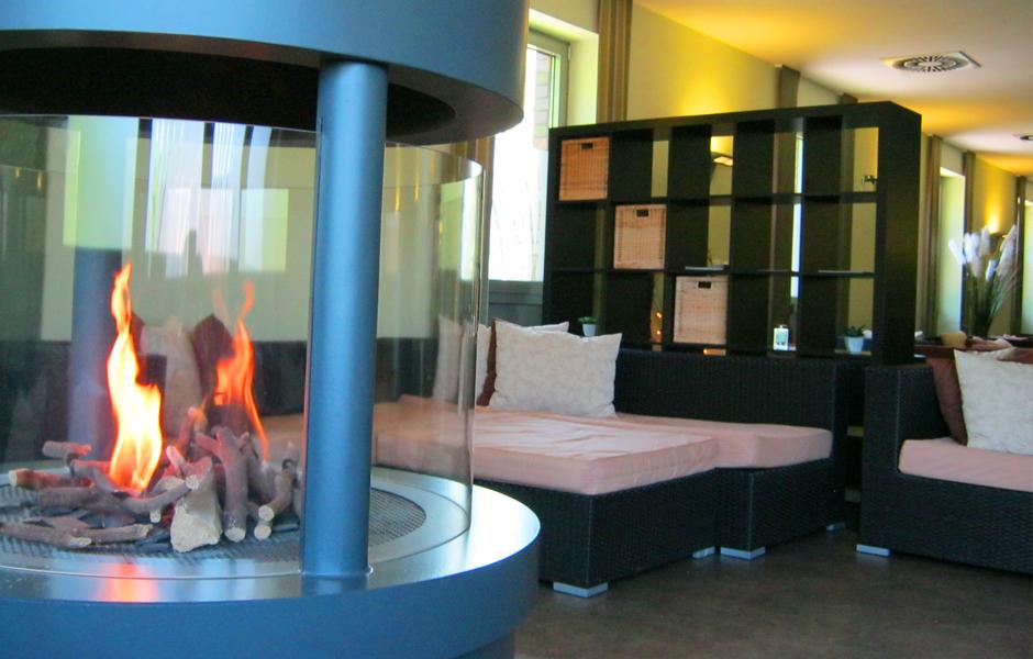 Innenbereich Feuerstelle